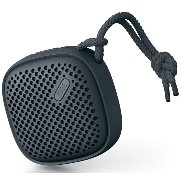 NudeAudio Move S Universal Bluetooth Wireless Portable Speaker - Black