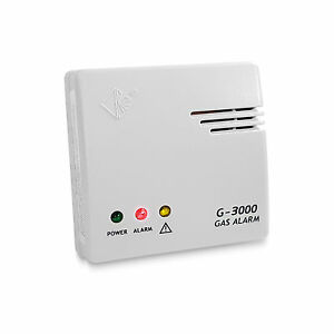 Gasdetektor Melder Propan Butan Gas Warner Xeltys DIN EN 50194 85db Alarm Küche