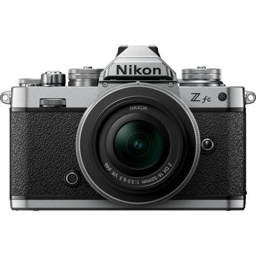Nikon Z fc Kit (Silver) w/16-50mm f/2.5-6.3 Z DX VR Lens *NEW* *IN STOCK*