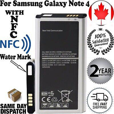New Original OEM battery for Samsung Galaxy Note 4 BN910B SM-N910 N910A N910, used for sale  Halifax