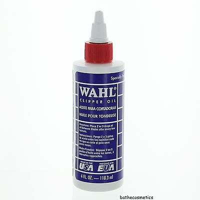 WAHL Lubricated Blade Oil for Hair Clipper Trimmer Shaver 4 oz for sale  Fullerton