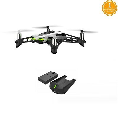 Parrot Mambo Fly Drone with Extra Battery and External Charger