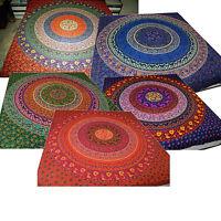 Copriletto Attaccatura Di Parete Decorazione Fazzoletto India Goa Mandala -  - ebay.it