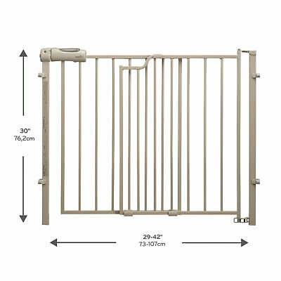 Evenflo New Secure Step Baby Gate (Taupe)