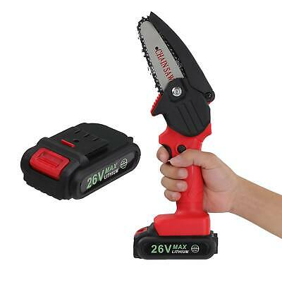 Electric Chain Pruning Saw Shears Plant Branch Pruner Tool For Home Yard DIY Kit