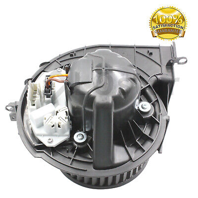 New Heater Blower Motor Fits 07-13 BMW X5 X6 E70 E71 With Resistor 64116971108