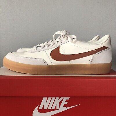 Nike shoes Killshot 2 size 11 Leather White Desert Orange 432997-127 UK...