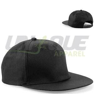 PLAIN-SNAPBACK-HATS-CAPS-FLAT-PEAK-FUNKY-RETRO-BASEBALL-CAP-COOL-DOPE-BOYS-MENS