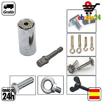 Punta de taladro Universal Destornillador electrico 7 a 19 mm llave *Envío...