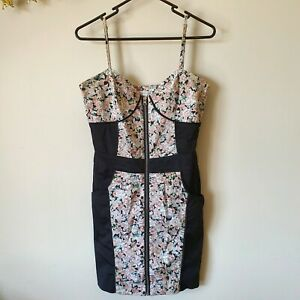 Minkpink Bodycon Floral Dress Size 10