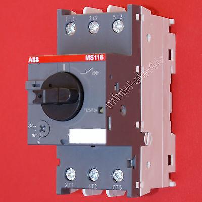 ABB Motorschutzschalter  MS116-20 einstellbar 16...20 A