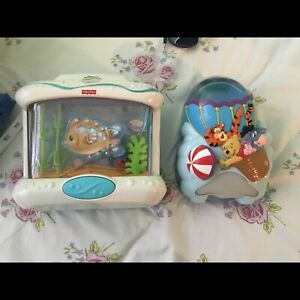 Baby mobile with music