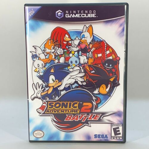 GameCube Replacement Case - Case Only NO GAME - Sonic Adventure 2 Battle