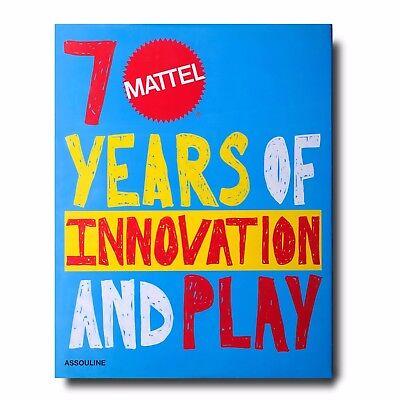 Neu Assouline Mattel 70 Jahre Im Innovation und Spiel
