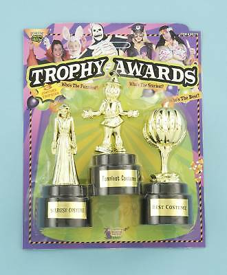 PLASTIC COSTUME TROPHY AWARDS FUNNIEST SCARIEST & BEST FUN @ ANY HALLOWEEN PARTY](Scariest Halloween Costumes)