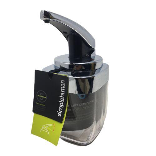 simplehuman Bath Accessories, 15oz Square BT1076 Soap Pump B