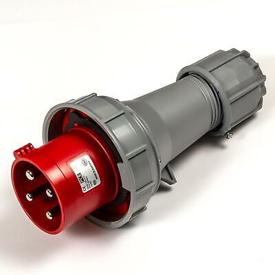 PCE 63A 4 Varilla 3P + E 400V. 3 Fase Rojo Cable...