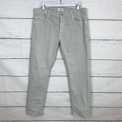 PT05 Light Gray Jazz Pants Size 36 Casual Regular Fit Career Straight Leg Mens