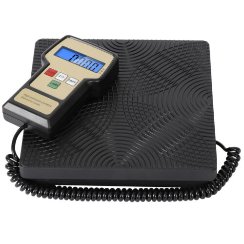 5X 220 lbs Electronic Refrigerant Charging Digital Weight Scale with Case HVAC Business & Industrial