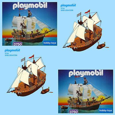 Playmobil * Pirate Ship 3750 3550 3053 0104 * Spares * SPARE PARTS SERVICE *