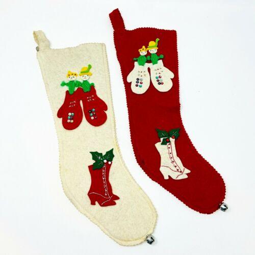 Christmas Stockings Vintage Sequin Handmade Cactus Old shoes Southwest Nostalgic