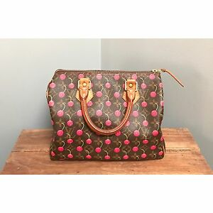 Louis Vuitton Cherries Speedy 25