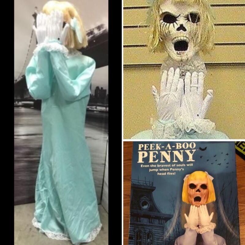 Spirit Halloween Peek a Boo Penny Animatronic (FULLY WORKING 2015 MODEL)