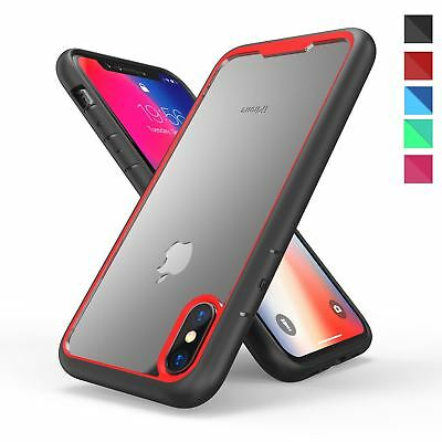 Shockproof Bumper Hard Armor PC Clear Case Cover For Apple iPhone X 8 Plus 7 6s Pc Bumper Case