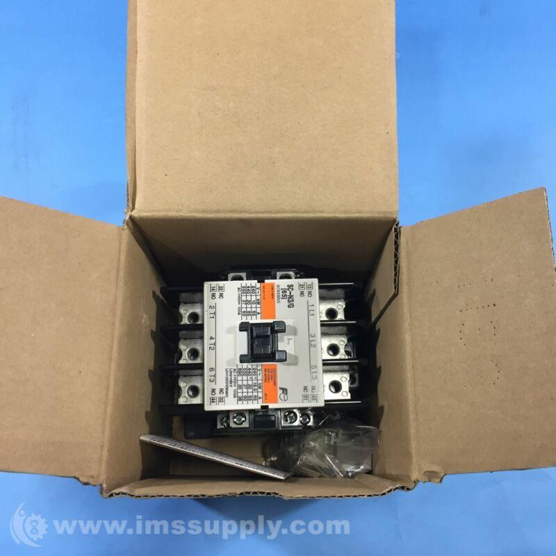 Fuji Electric SC-N3/G SC65BAG Contactor FNOB