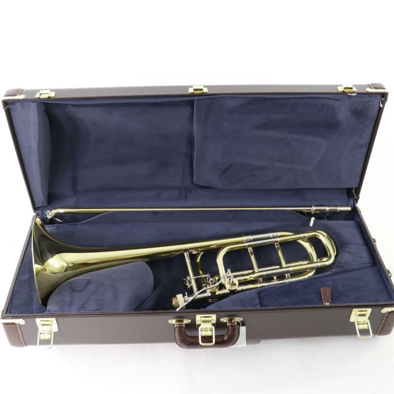 Bach Model 50B3O Stradivarius Professional Bass Trombone SN 223213 OPEN BOX