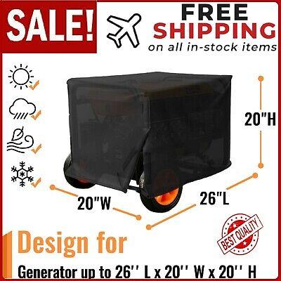 Medium Portable Generator Cover Fit For Champion 3500-watt 4000-watt Igen4500 Et
