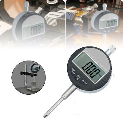 Digital Dial Indicator 0.01mm0.0005 Range 0-25.4mm1 Clock Gauge Rear Cover