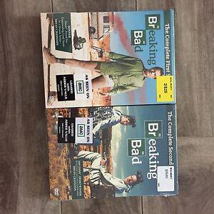 Breaking Bad DVD - seasons 1 and 2