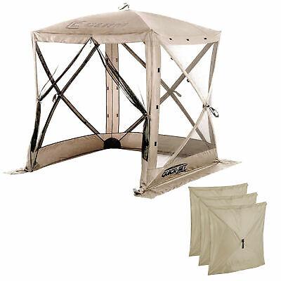Clam Quick-Set Traveler Outdoor Screen Shelter w/Wind Panels