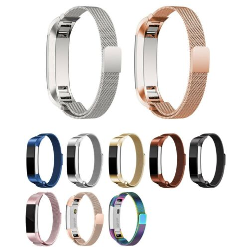 Stainless Steel Magnetic Milanese Watch Band Strap for Fitbit Alta HR / Alta