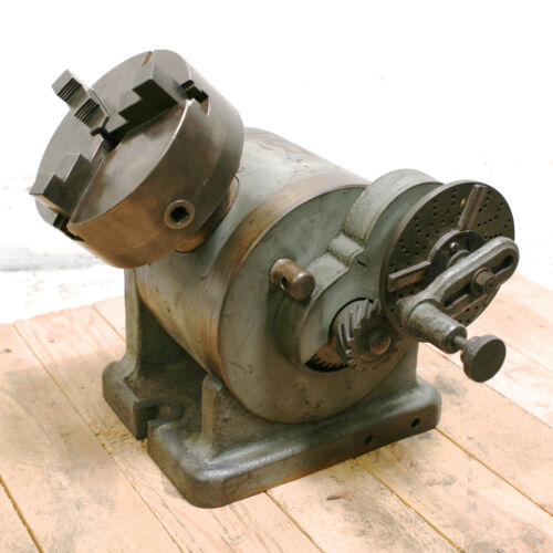 "L-W Chuck 6"" Dividing Head with Cushman Chuck and Tailstock"