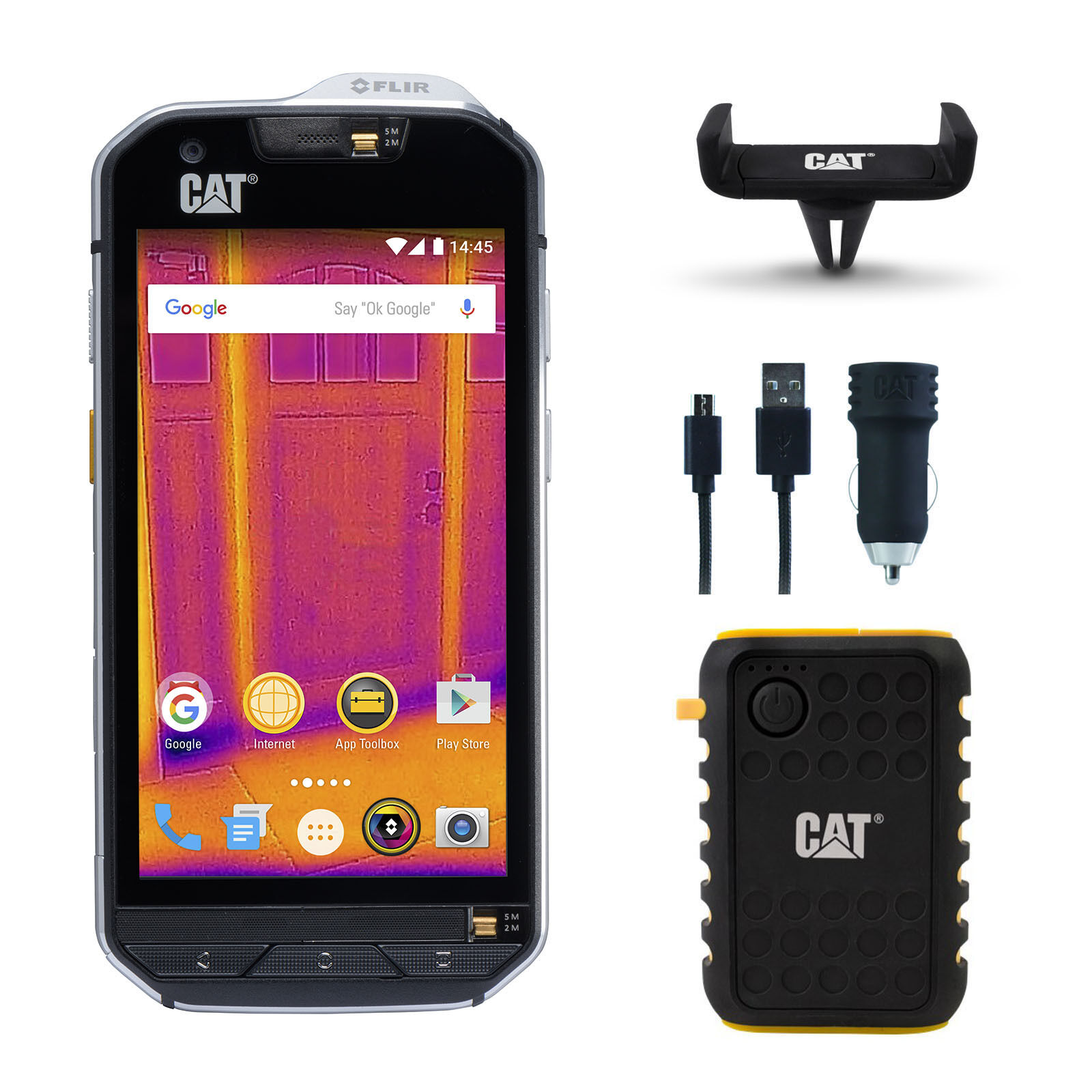 caterpillar cat s60 waterproof 32gb unlocked 4g smartphone battery phone charger. Black Bedroom Furniture Sets. Home Design Ideas
