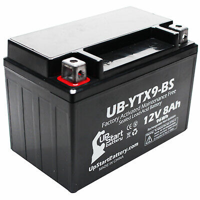Battery for 2009 - 2012 Triumph Street Triple, R 675CC