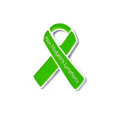 Non Hodgkins Lymphoma Awareness Ribbon Pin Lymphoma Awareness Badge Pin