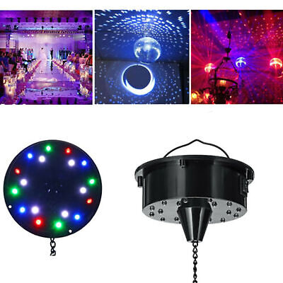 Rotating Disco Ball (6RPM RGB Light Rotating Motor 18 LED For Mirror Disco Ball 6