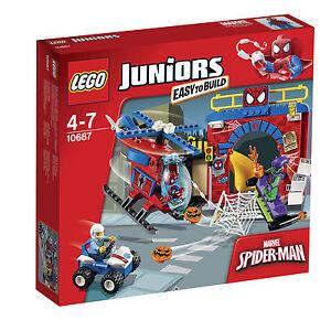 LEGO 4Juniors Spider-Man Versteck (10687) neu und original verpackt