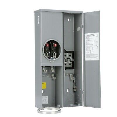 New Siemens Mm0406l1200esc 200a Meter Main Breaker Combo Panel Outdoor Nema 3r