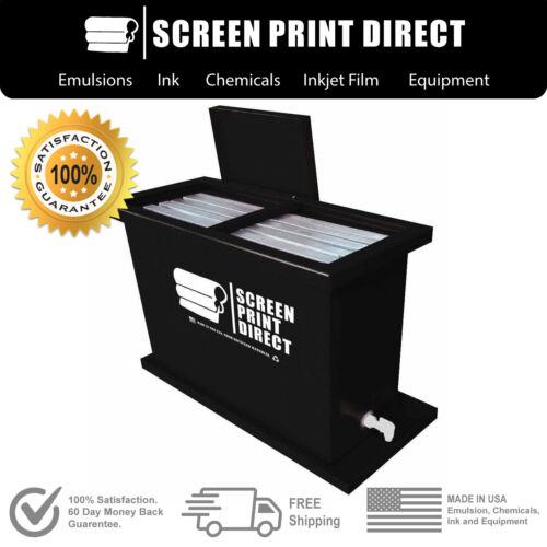 Ecotex® Screen Printing Equipment - 30 Gallon Dip Tank - Fits Up To 6 Screens