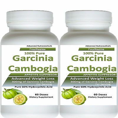 2 Pure Garcinia Cambogia Extract Weight Loss With 100  Hca Diet Plus Powder