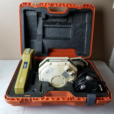 Leica Sr399e Gps Cr344 Receiver Wcables Case Land Surveying Equipment