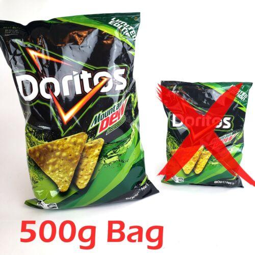 US Seller LARGE 500g Mountain Mtn Dew Australia Limited Edition Doritos Chips