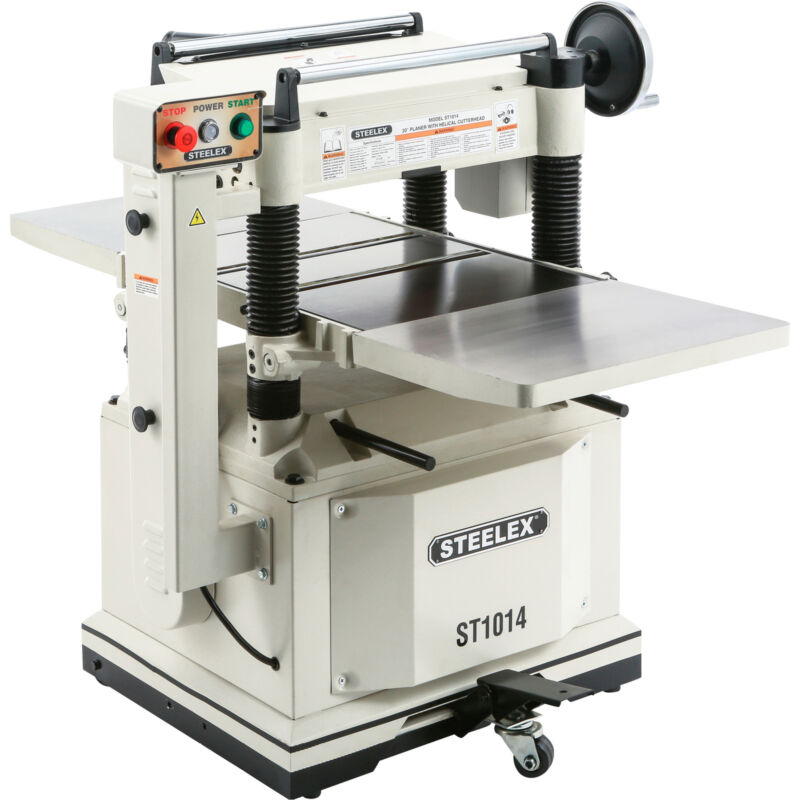 Steelex 20in. Planer with Helical-Style Cutterhead, Model# ST1014