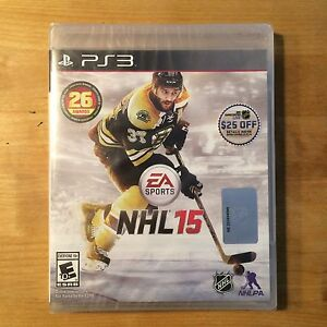 PS3 -EA SPORTS NHL15 / FIFA15