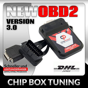 OBD2 Chiptuning Chrysler 300 C 3.0 CRD 218PS Diesel Tuning Chip Box Ver.3