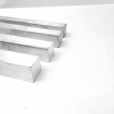 1.625 Aluminum 6061 Square Solid Flat Bar 9.375 Long Pieces 4 Sku M605